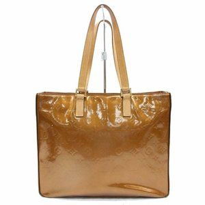 Louis Vuitton  Copper Bronze Monogram Vernis Colum